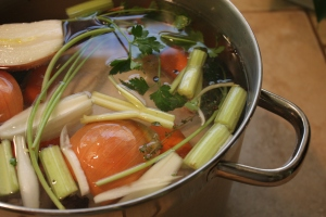 Quick & Easy Chicken Broth
