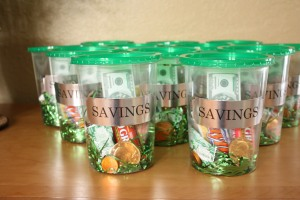 Money Themed Party Favors